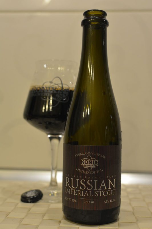 Russian Imperial Stout 1 Year Anniversary (barrel #Whisky)