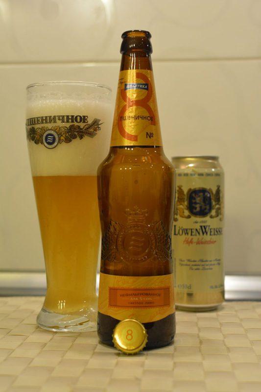 Пиво Балтика №8