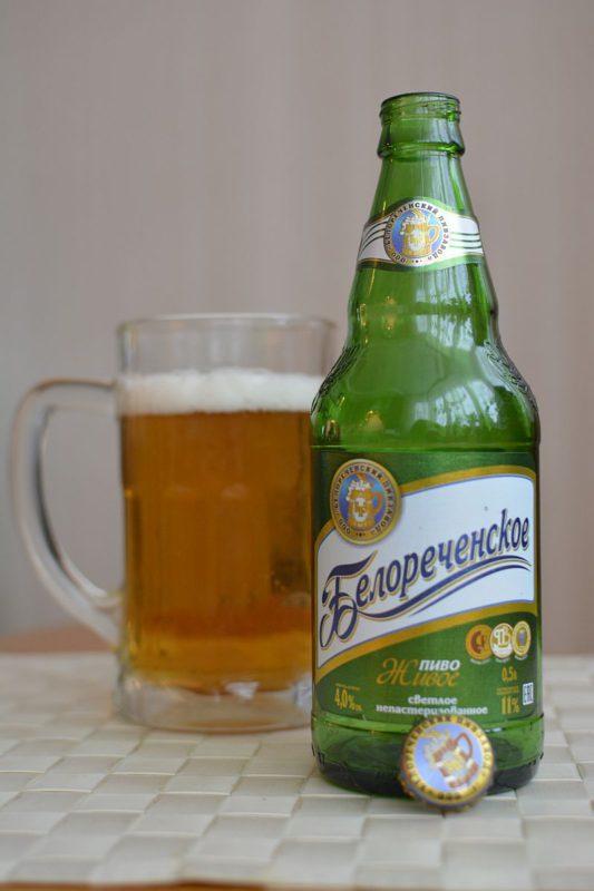 Пиво Белореченское Живое