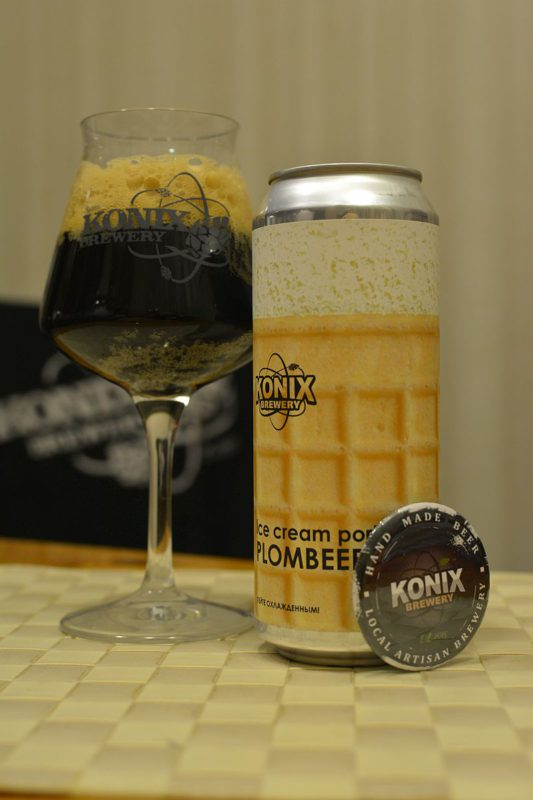 Пиво Ice Cream Porter Plombeer