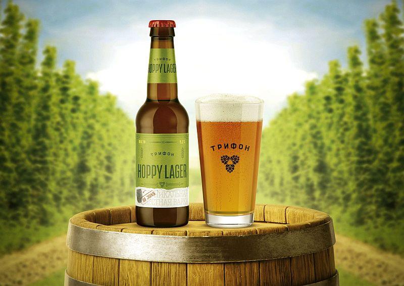Пиво Трифон Hoppy Lager