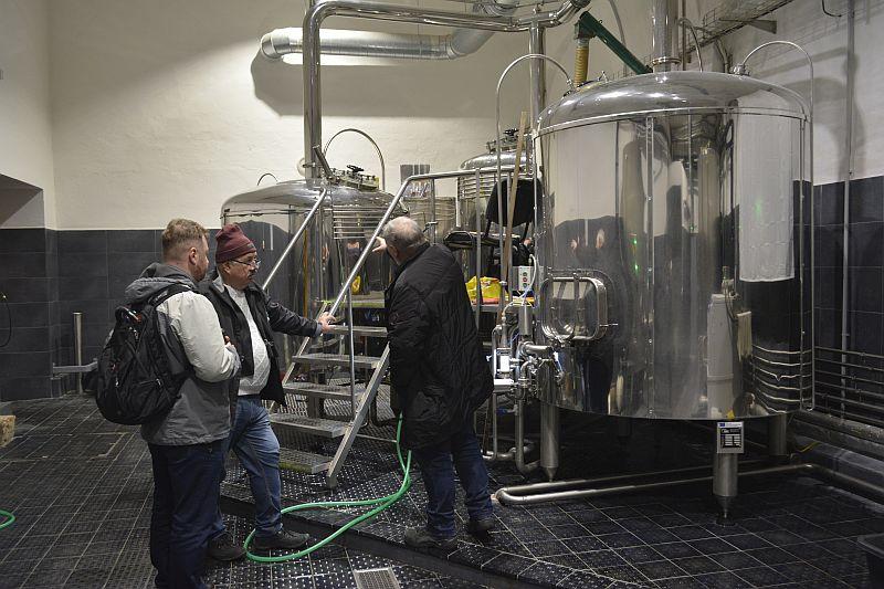 Пивоварня Historický pivovar Český Krumlov