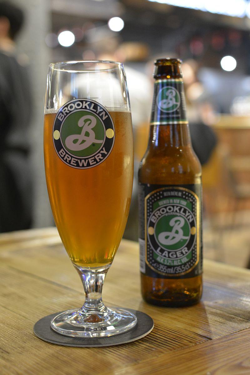 Пиво Brooklyn Lager