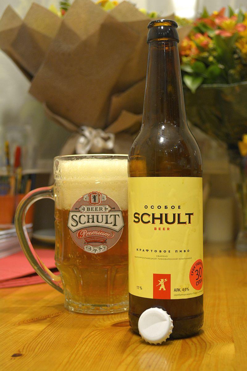 Пиво Schult Особое