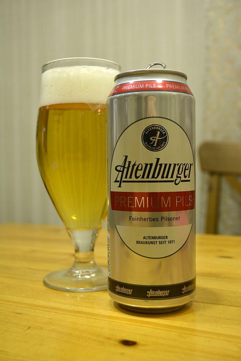 Пиво  Altenburger Premium Pils