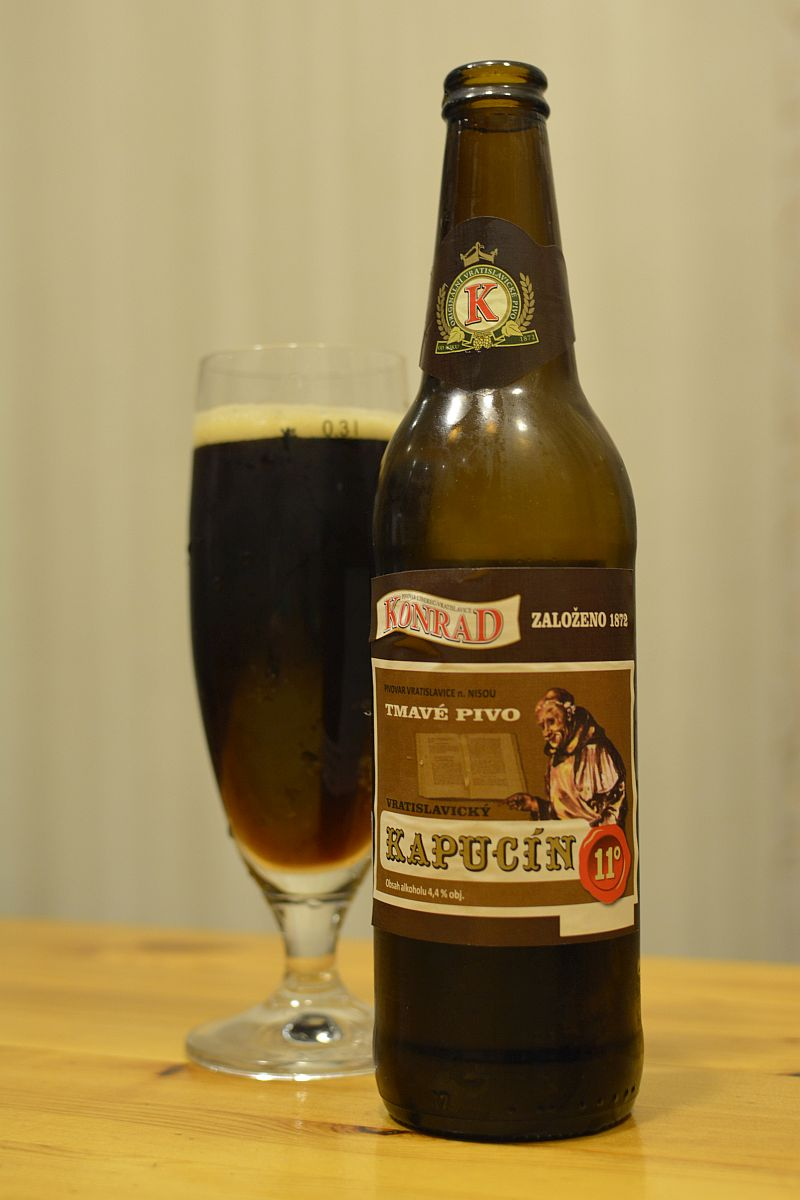 Пиво Konrad Kapucín 11°