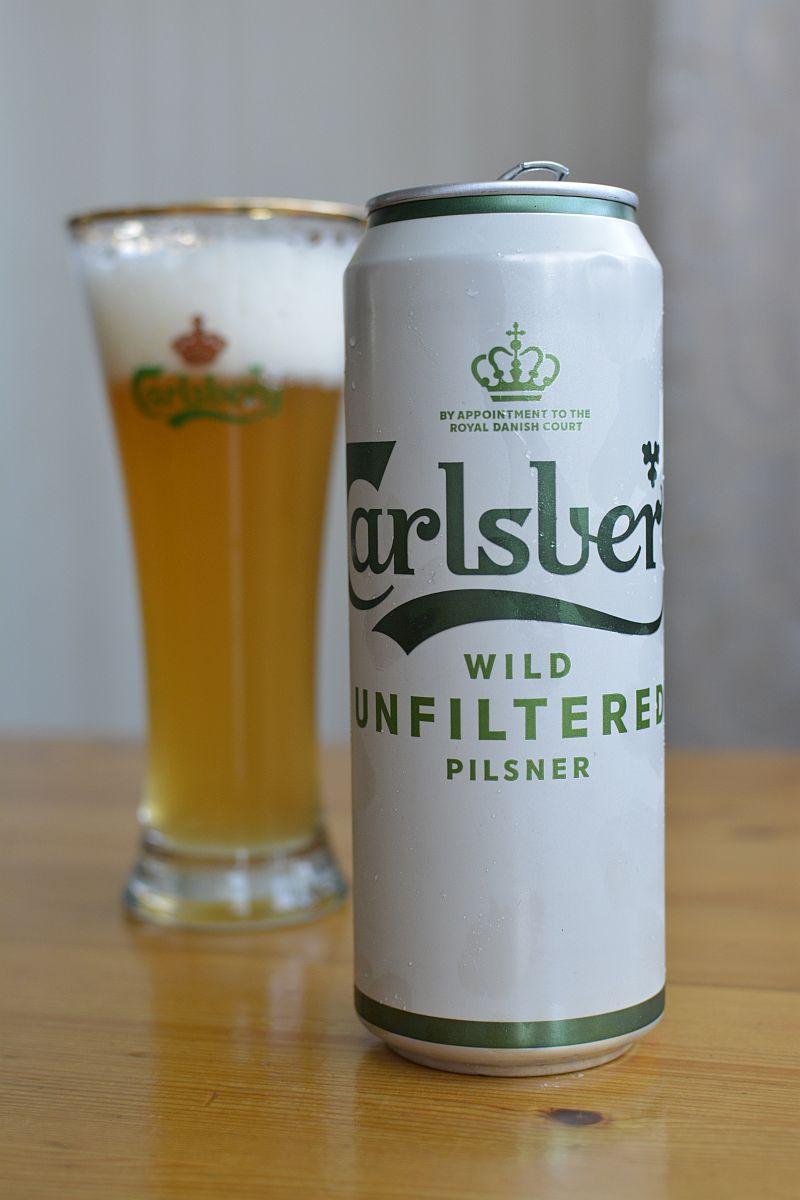 Пиво Carlsberg Wild Unfiltered Pilsner