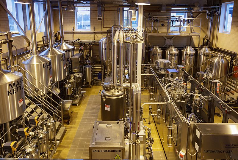 Мини пивоварня Клинского пивзавода