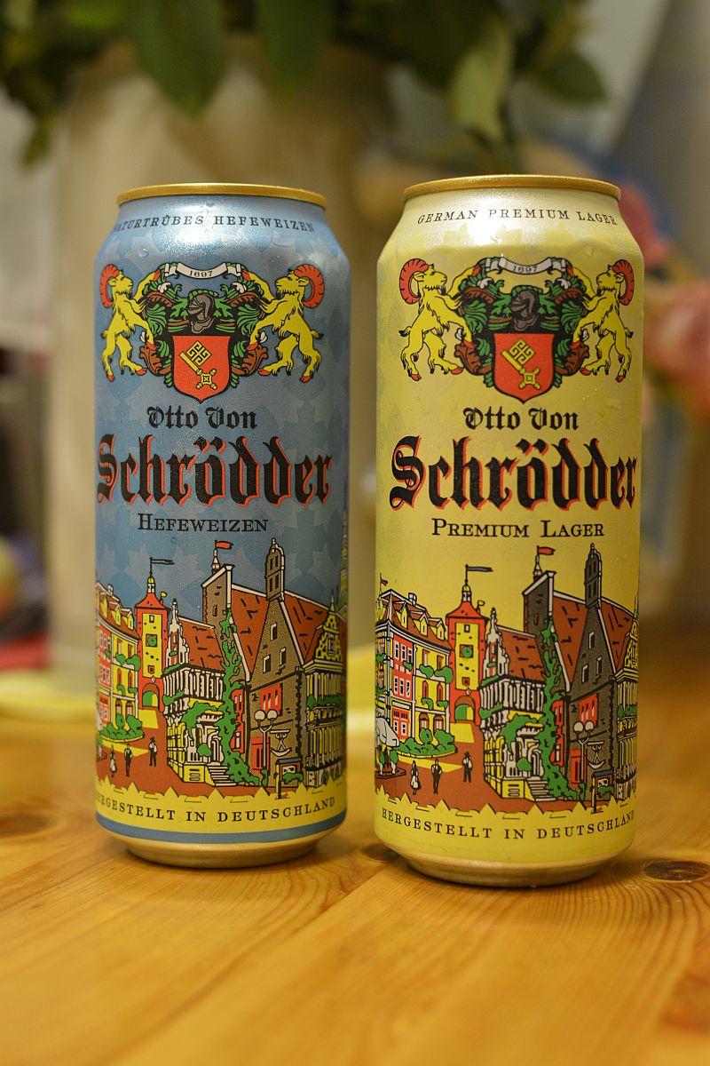 Пиво Otto Von Schrödder