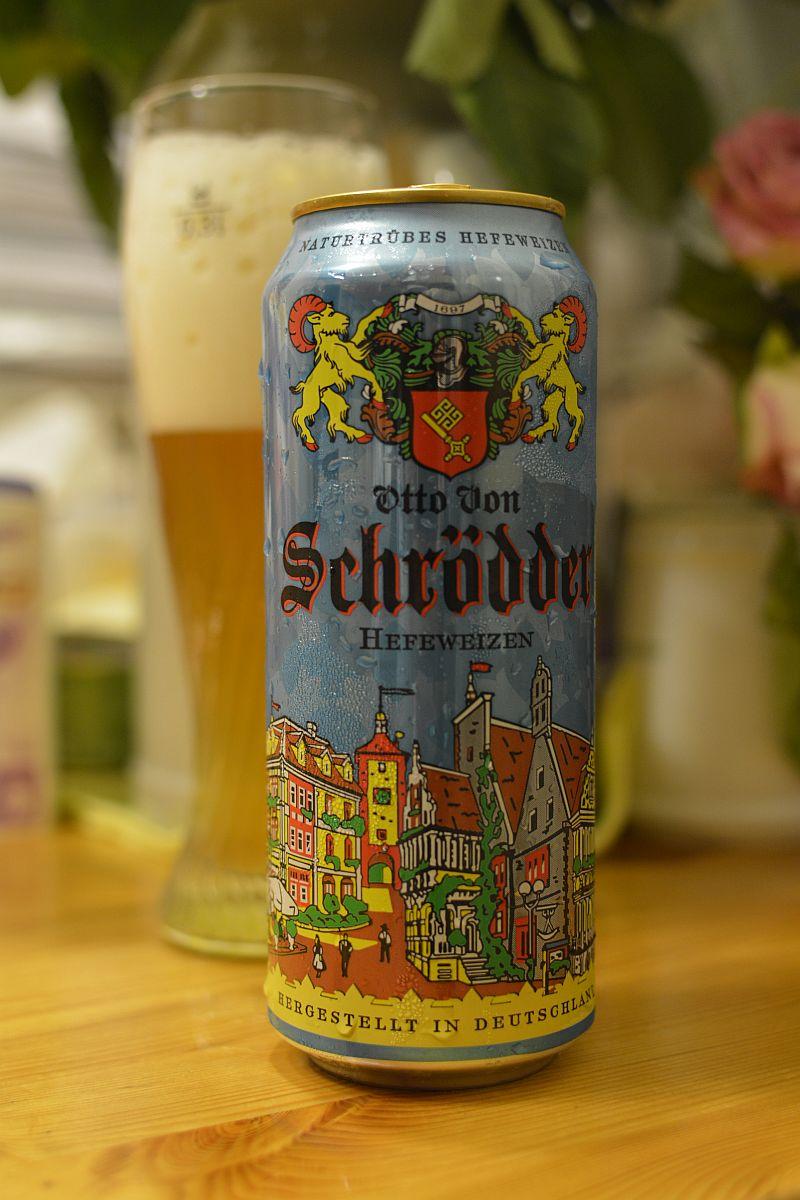 Пиво Otto Von Schrödder Hefeweizen