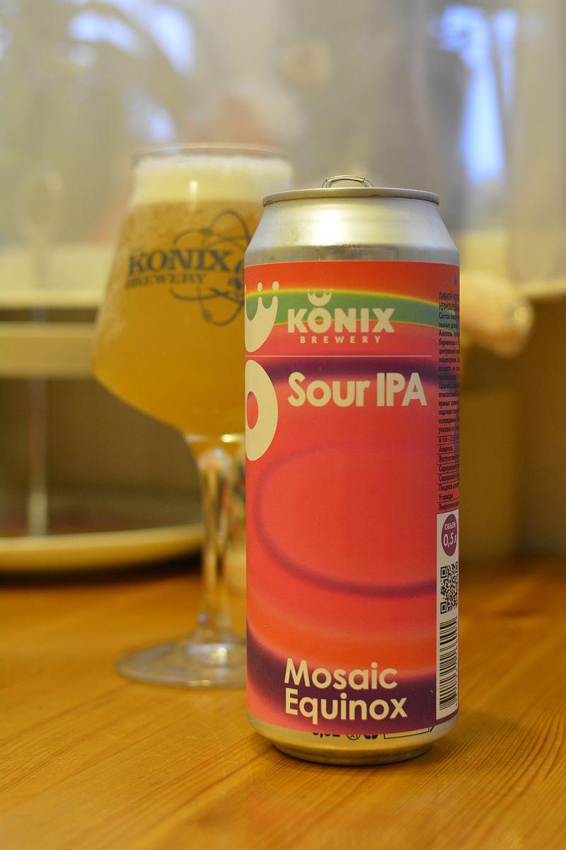Пиво Sour IPA от KONIX