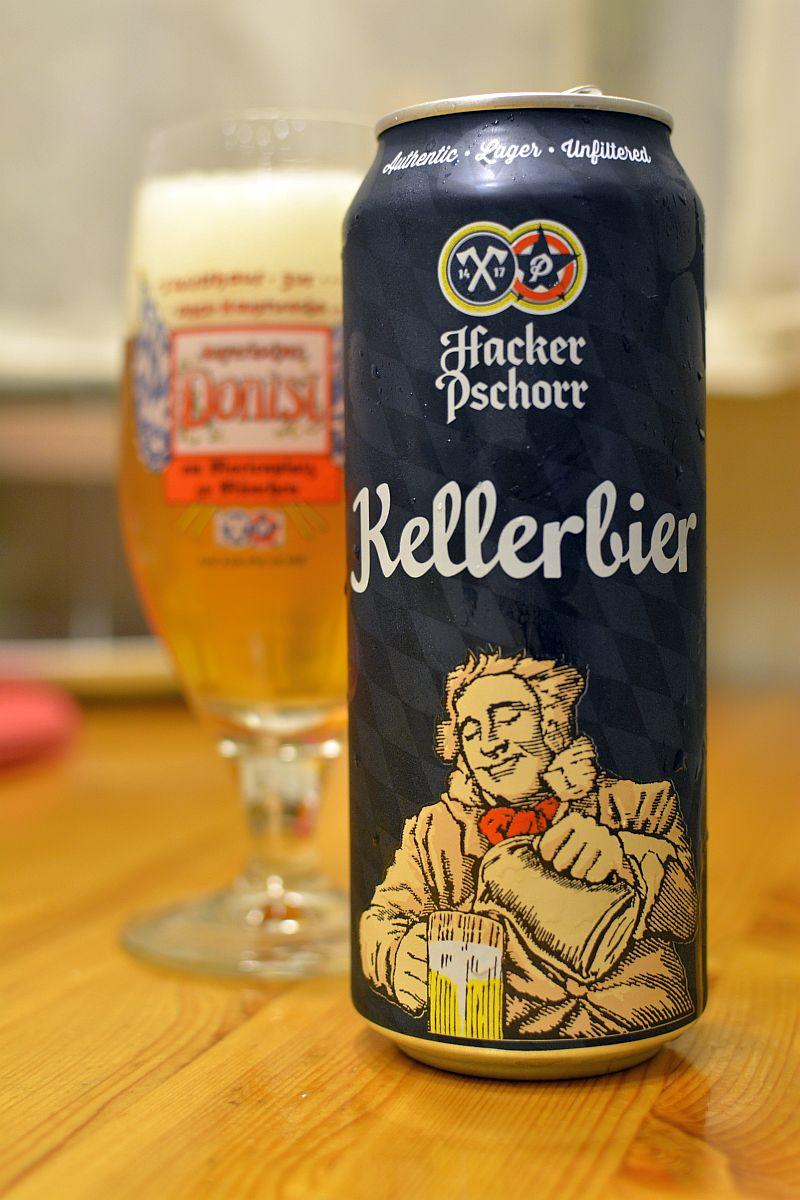 Пиво Hacker-Pschorr Kellerbier