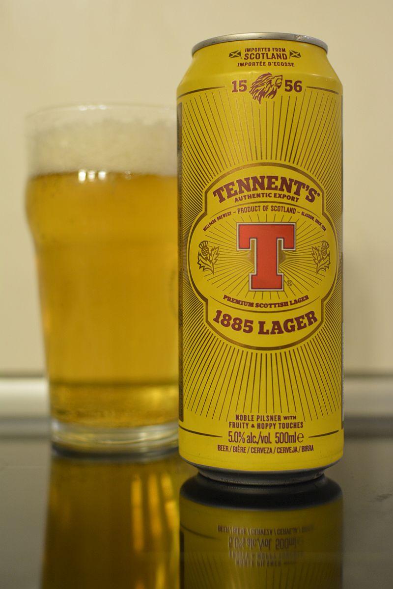 Пиво Tennent's 1885 Lager