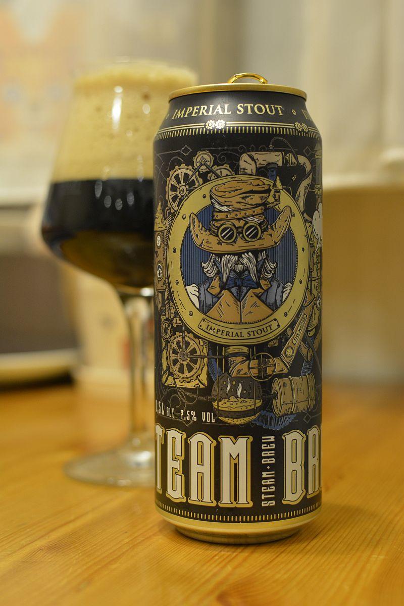 Пиво   Steam Brew Imperial Stout