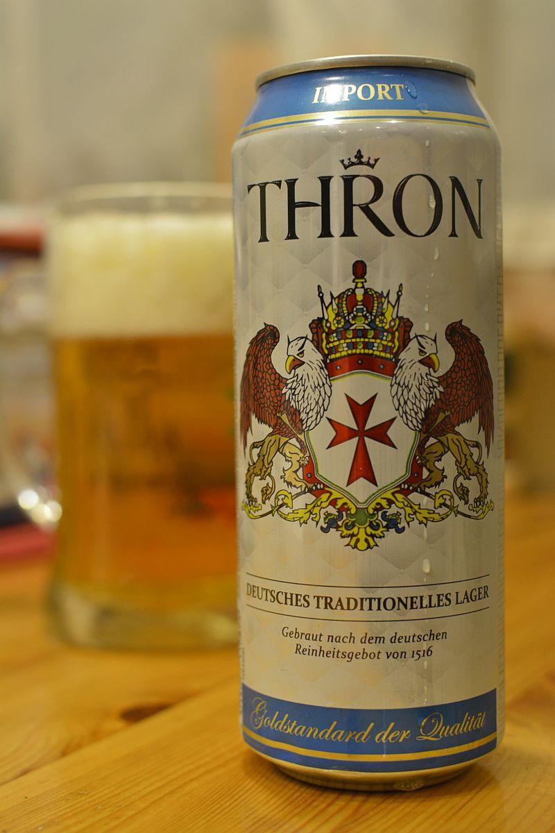 Пиво Thron Lager