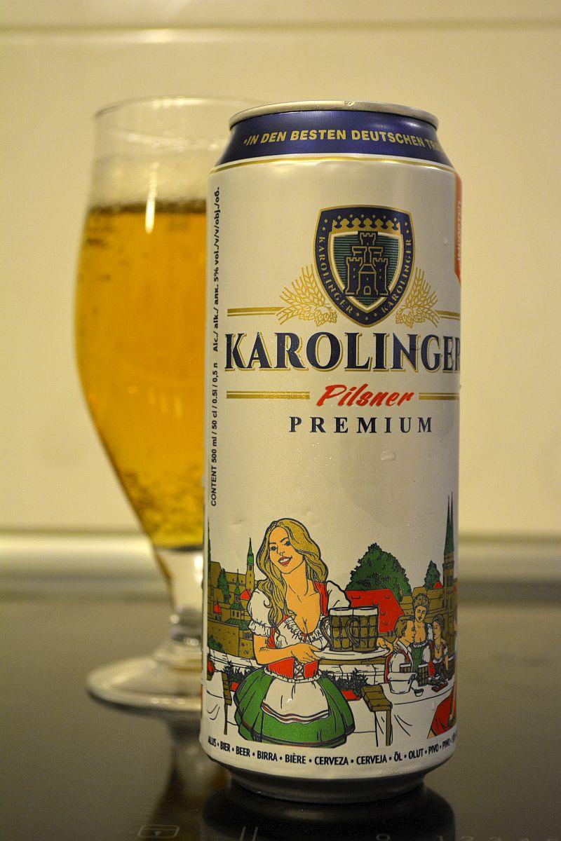 Пиво Karolinger Pilsener Premium