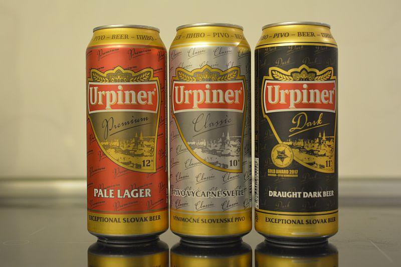 Словацкое пиво Urpiner