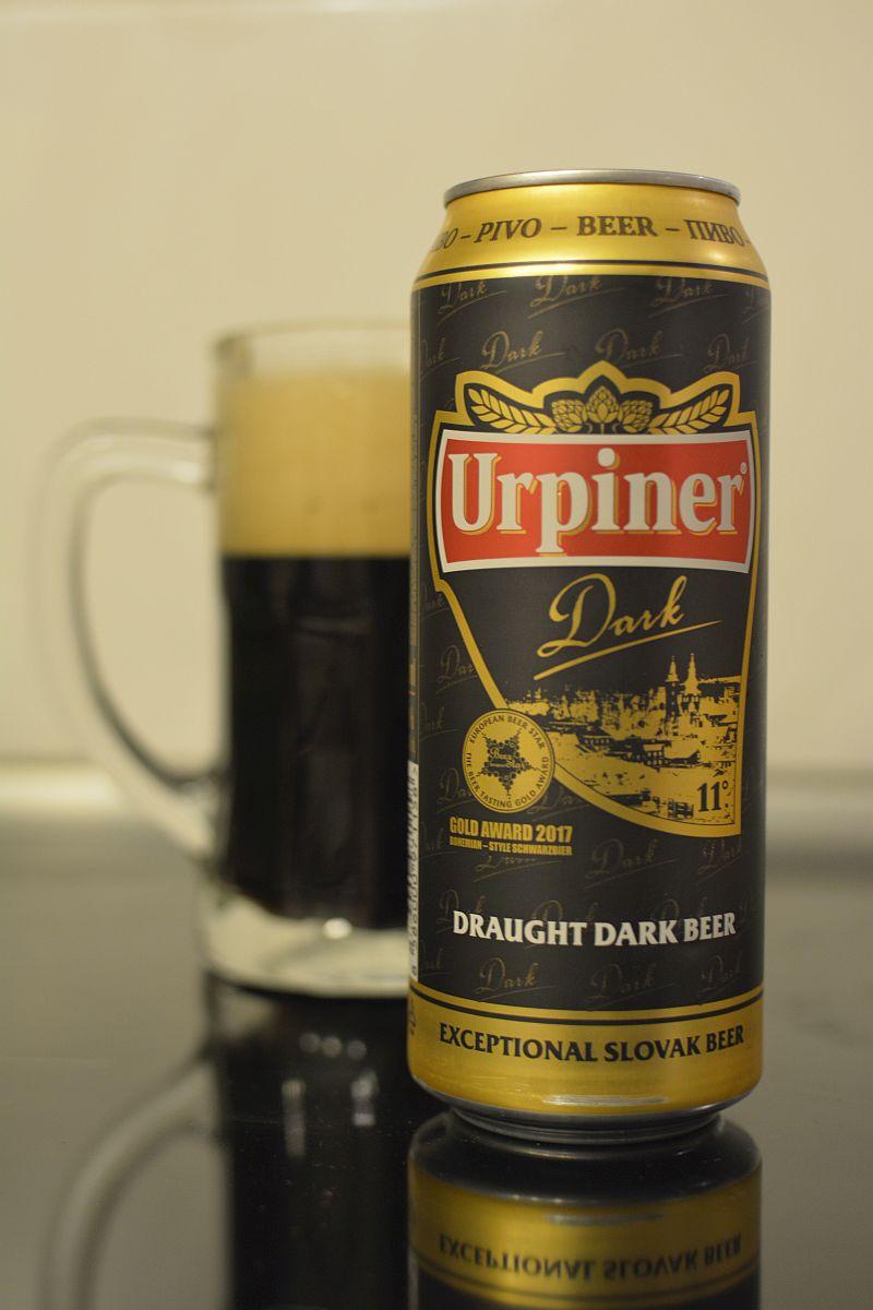 Пиво Urpiner Dark 11°