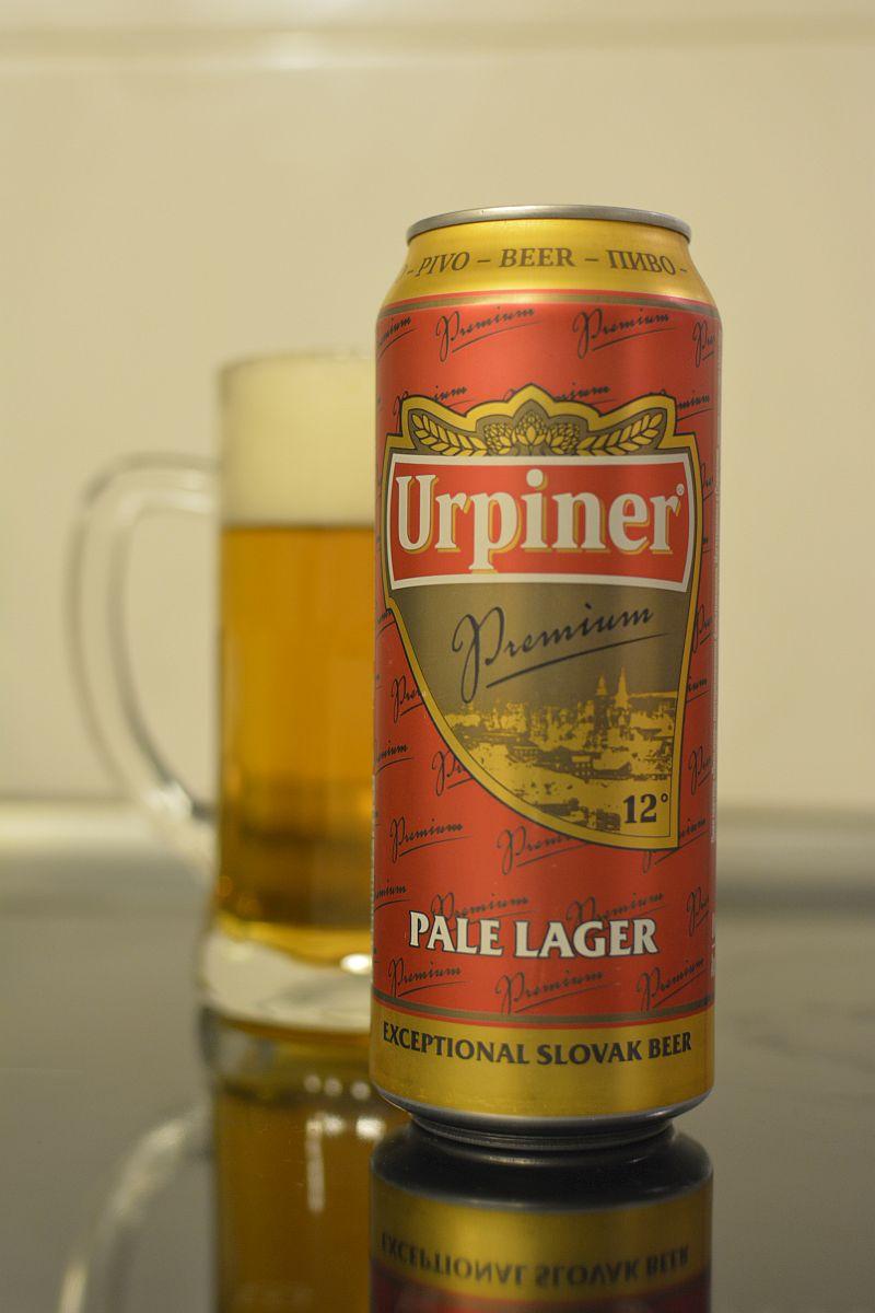 Пиво Urpiner Premium 12°