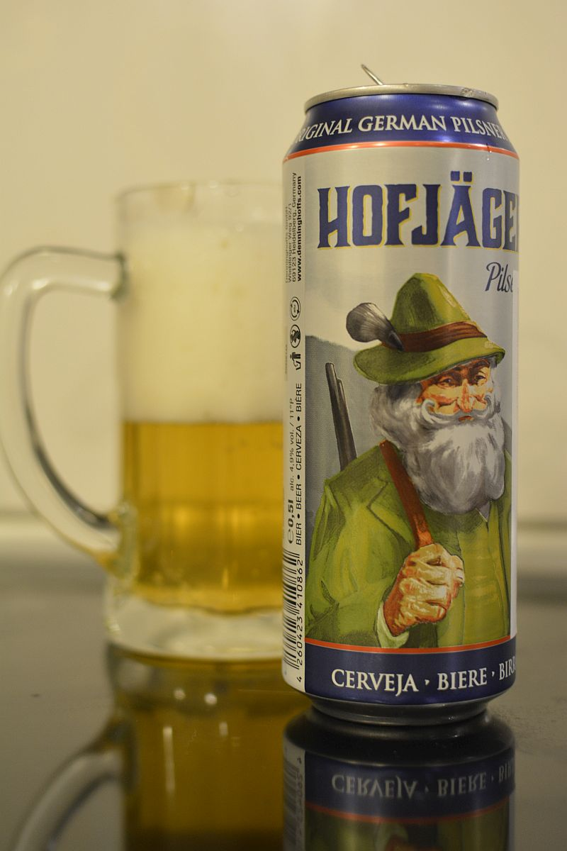 Пиво Hofjäger Pilsener