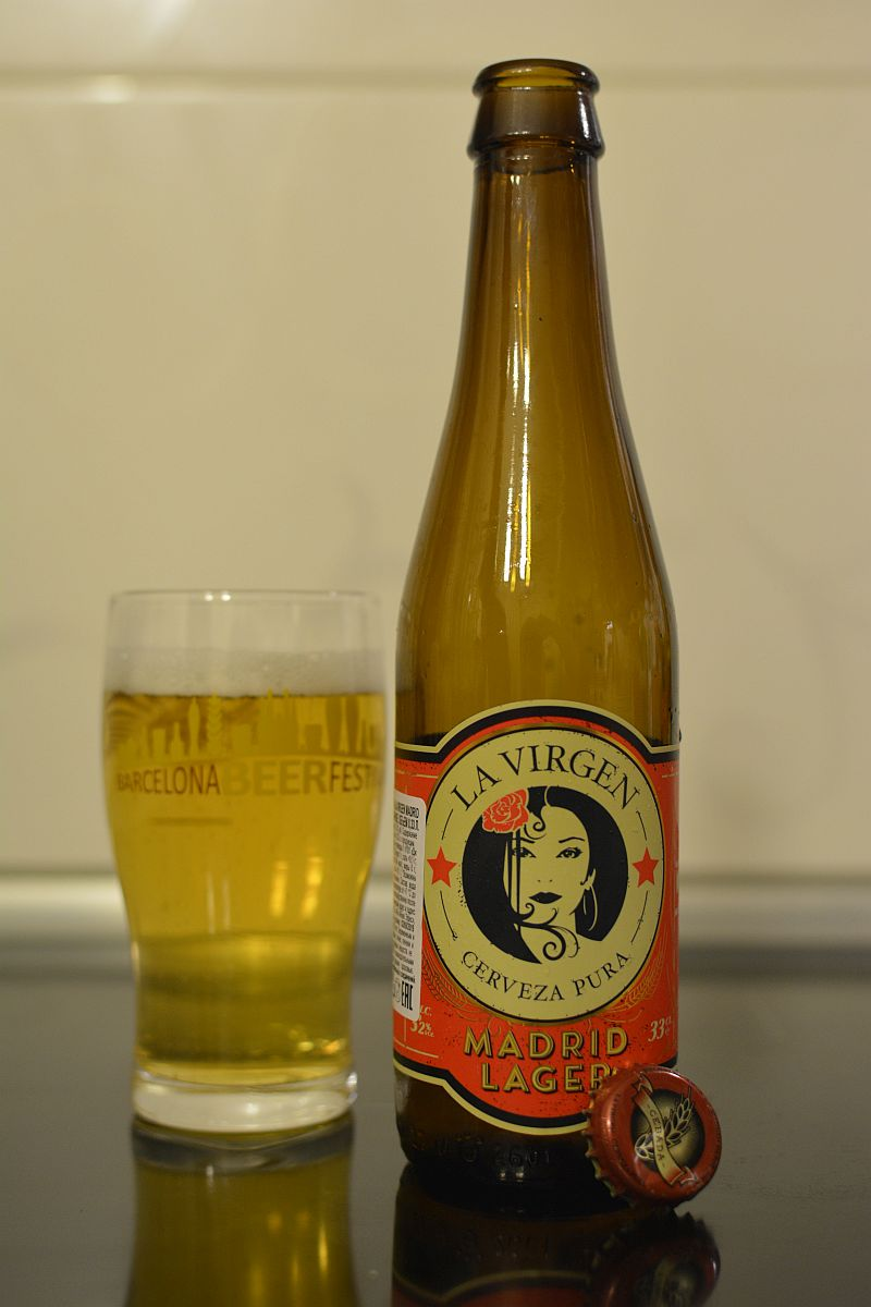 Пиво Madrid Lager