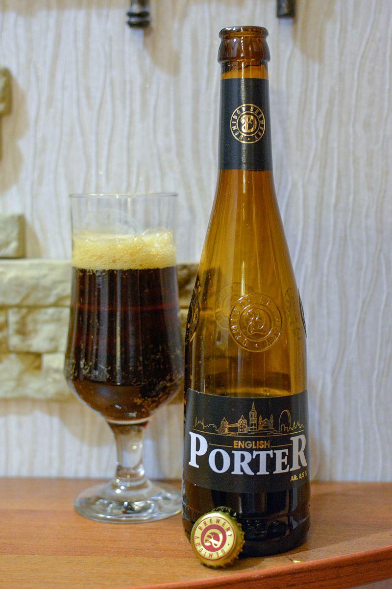 English Porter от тагильской Demidov Brewery