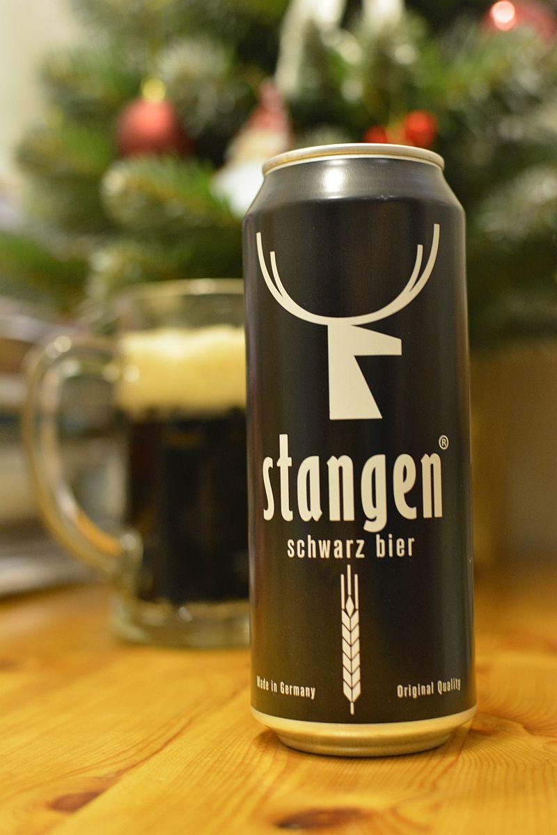 Пиво Stangen Schwarz