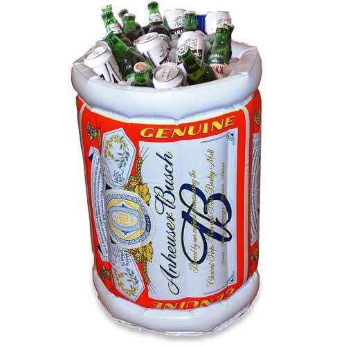 надувная бочка для холодного пива