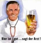 Пиво это хорошо... сказал доктор.