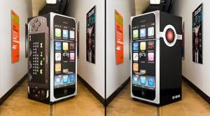 Пивной холодильник iPhone
