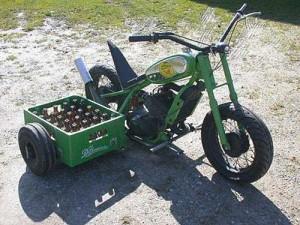 Пивной мотоцикл