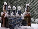 Пиво зимой
