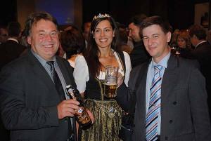 "Министр продовольствия Баварии, ""молочная королева"" Баварии и я"