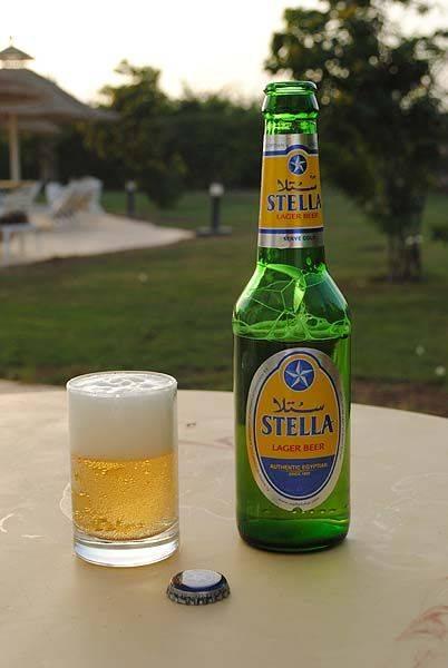 Египетское пиво Stella