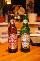 Пиво Дербес и Ирбис