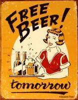 Бесплатное пиво? Приходите завтра!