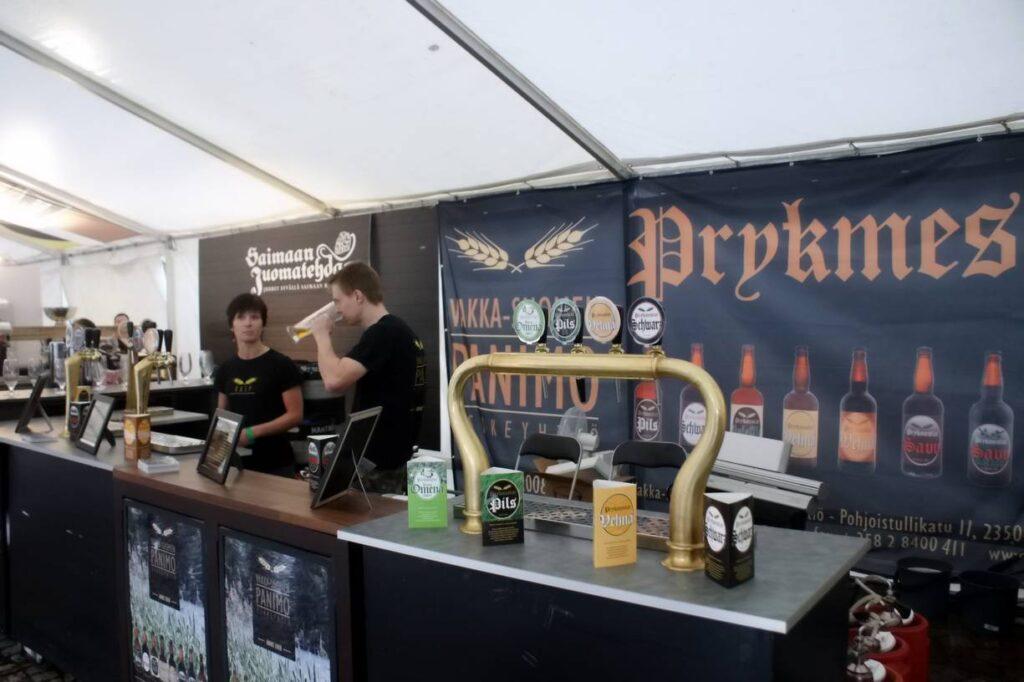 Финское пиво оно