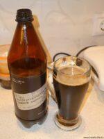 Экспериментальное лёгкое тёмное пиво из Твери