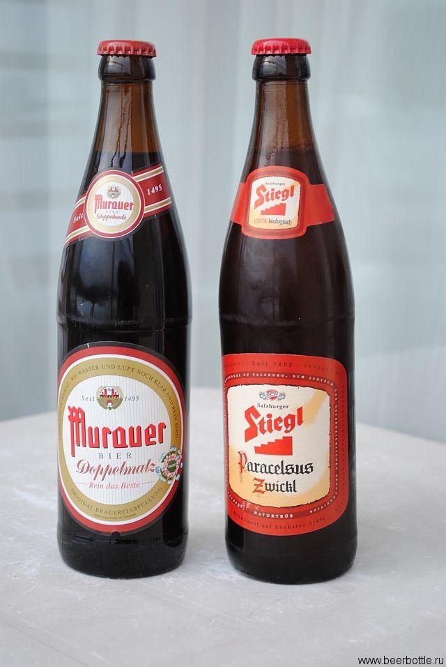 Stiegl Paracelsus и Murauer Doppel Malz
