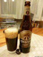 Пиво Ksiazece ciemne. Польша.