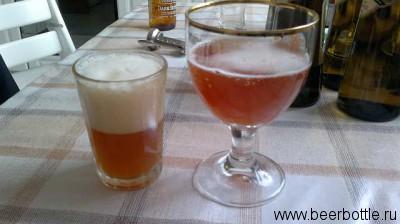 Одно и тоже пиво в разных бокалах (стаканах). Используйте правильную посуду для каждого сорта пива!