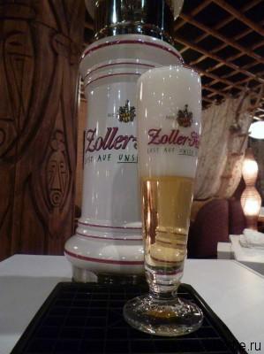 Пиво Zollerhof светлое