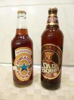 Пиво Old Bobby и Newcastle
