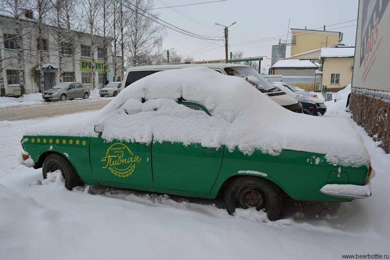 Зелёная пивоваренная машинаЗелёная пивоваренная машина