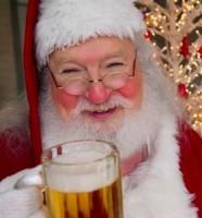 Дед Мороз и пиво