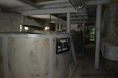 Старая солодовня. Последний раз здесь делали солод в 2003 году. Скоро в этом помещении всё реконструируют.