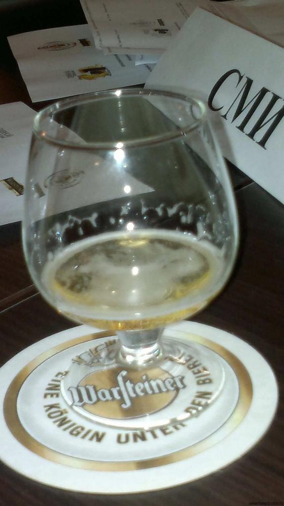 пиво Warsteiner