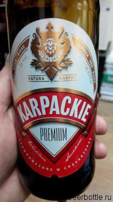 Пиво Karpackie Premium