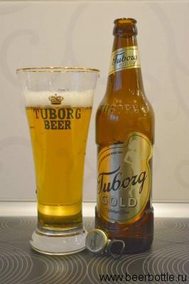 пиво Tuborg Gold