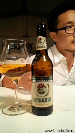 пиво Chinggis Mongolian Lager